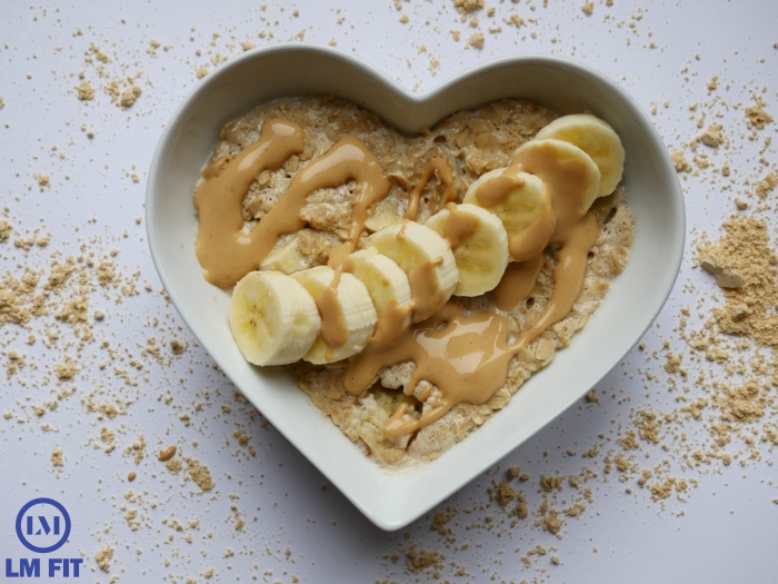 Banana and Peanut Butter Oats large