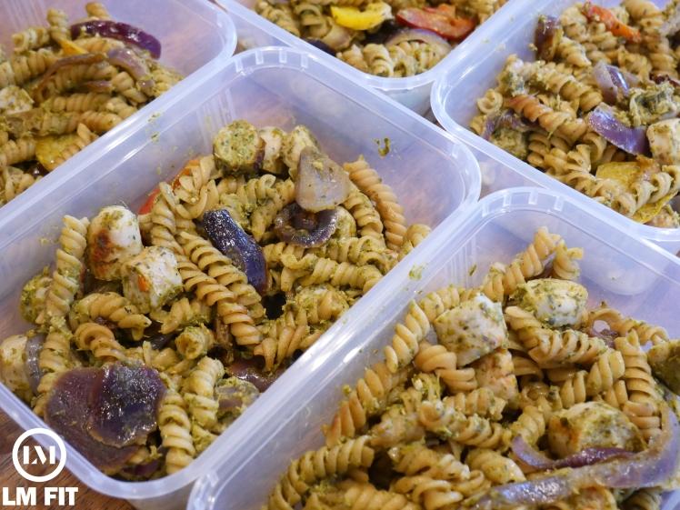 Pesto Protein Pasta