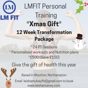 12 Week Transformation Package Offer