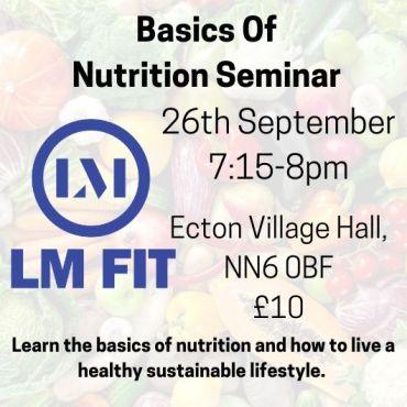 LM FIT Nutrition Seminar