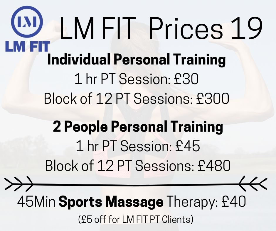 LM FIT Facebook Price List